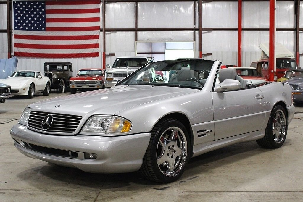 2000 mercedes benz sl500