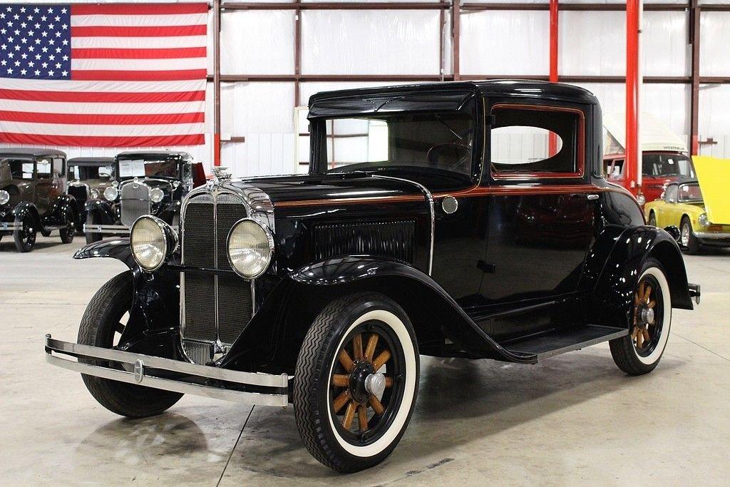 1930 pontiac big six 2 door coupe
