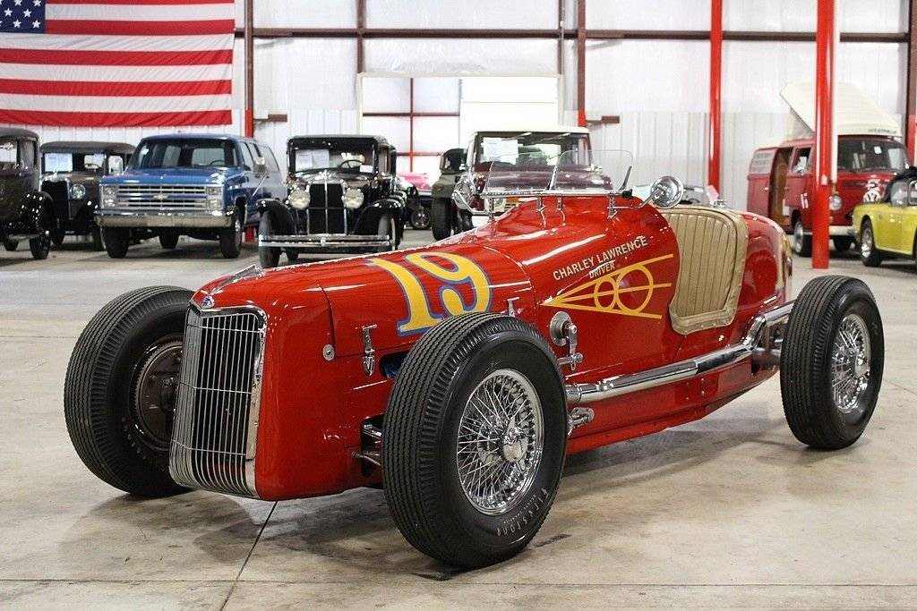 1935 ford indy race car