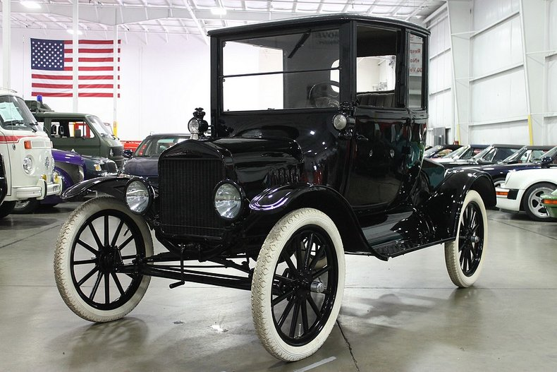 1918 ford model t pillarless coupe