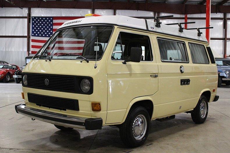 1983 volkswagen vanagon l