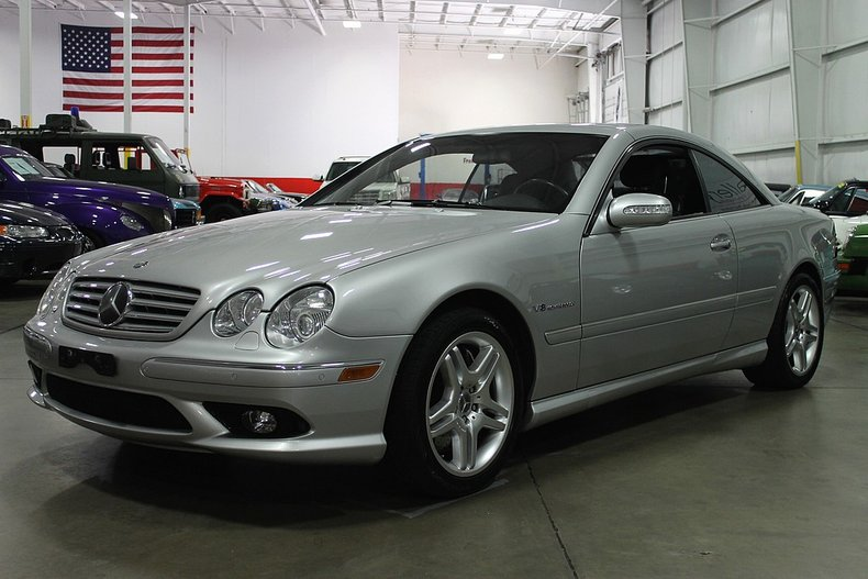 2003 mercedes benz cl55