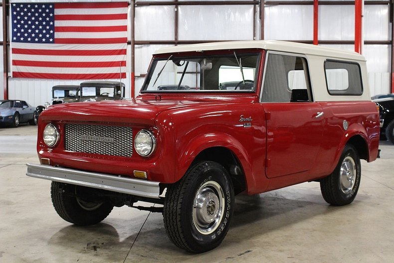 1962 International Scout   GR Auto Gallery