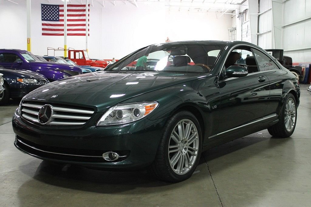 2007 mercedes benz cl600