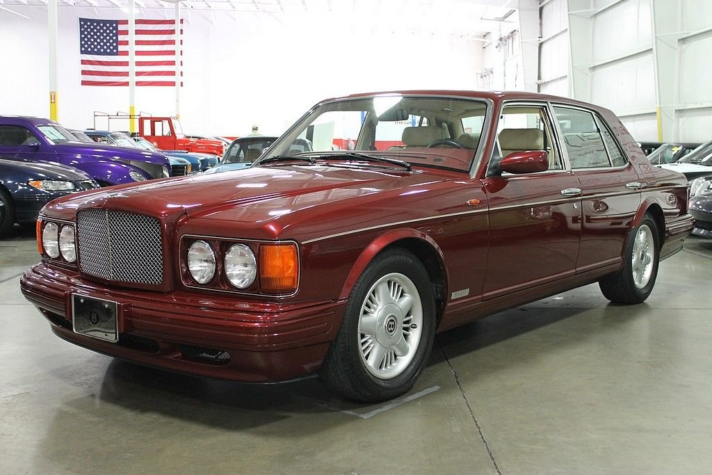 1998 bentley brooklands