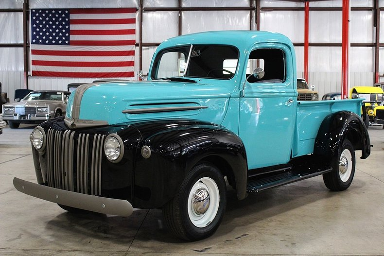 Ford Dealer Grand Rapids >> 1942 Ford Pickup   GR Auto Gallery