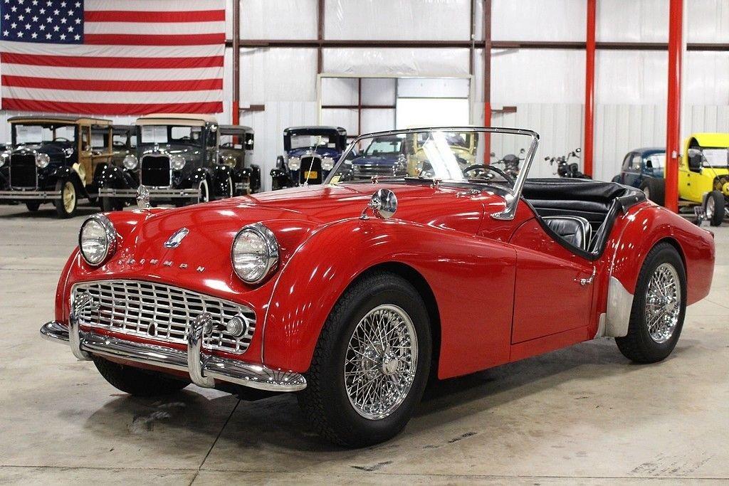 1961 triumph tr3 a