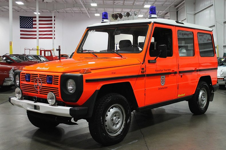 1983 mercedes benz 280ge g wagon