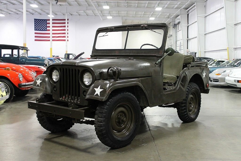 1954 willys military jeep