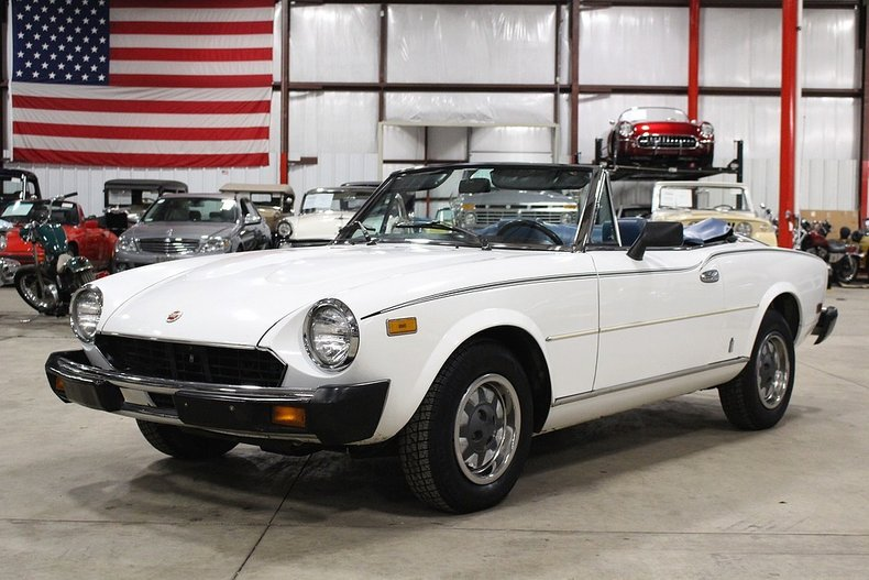 1980 Fiat Spider For Sale