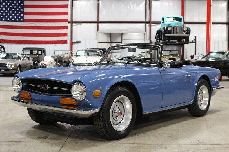 1973 Triumph TR6   GR Auto Gallery