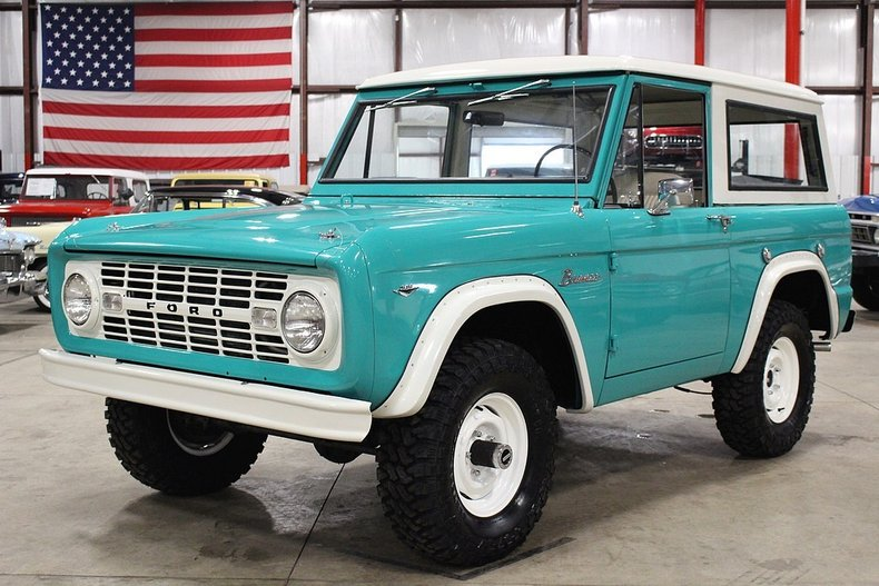 1967 Ford Bronco for sale #80827 | MCG
