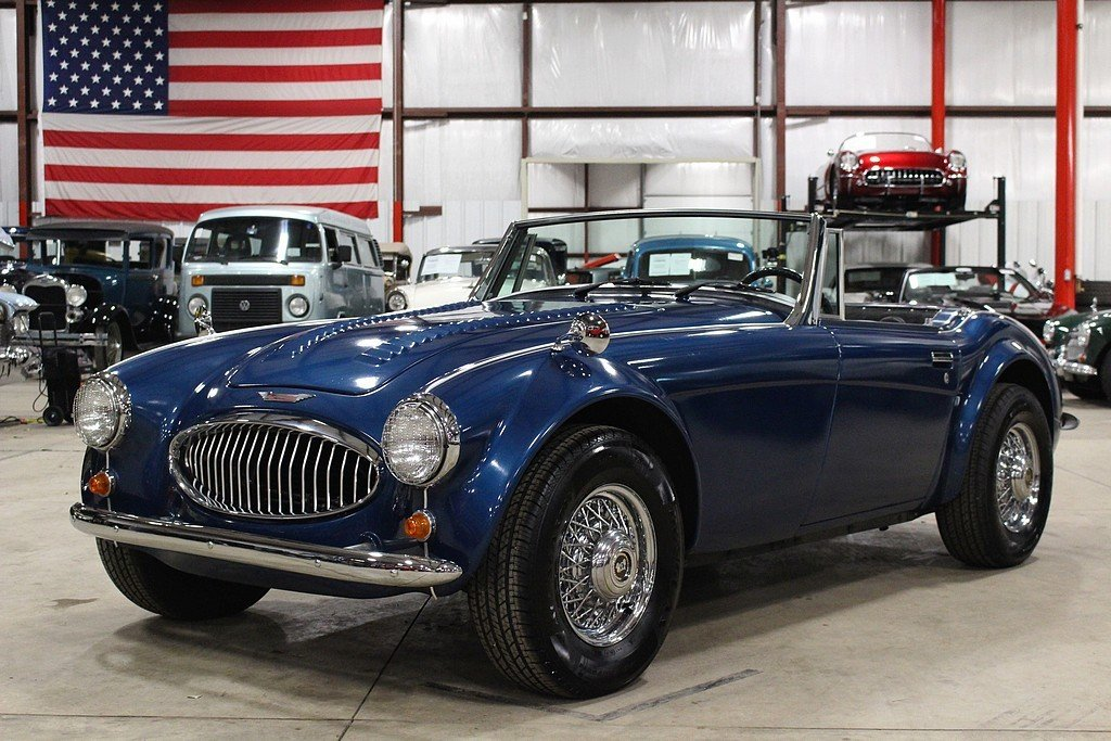 1956 austin healey 3000 mk iii