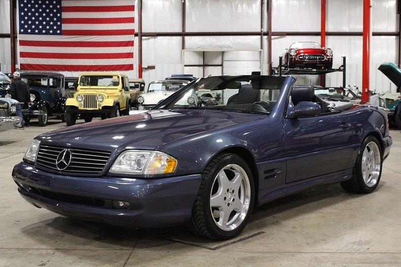2000 Mercedes-Benz SL500 For Sale
