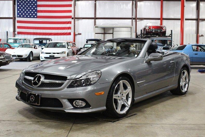 2009 mercedes benz sl 550