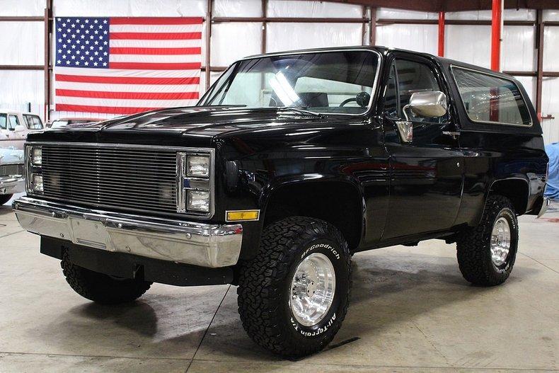 1985 Chevrolet Blazer K5 for sale #87167 | MCG