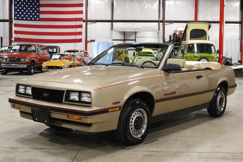 1986 chevrolet cavalier