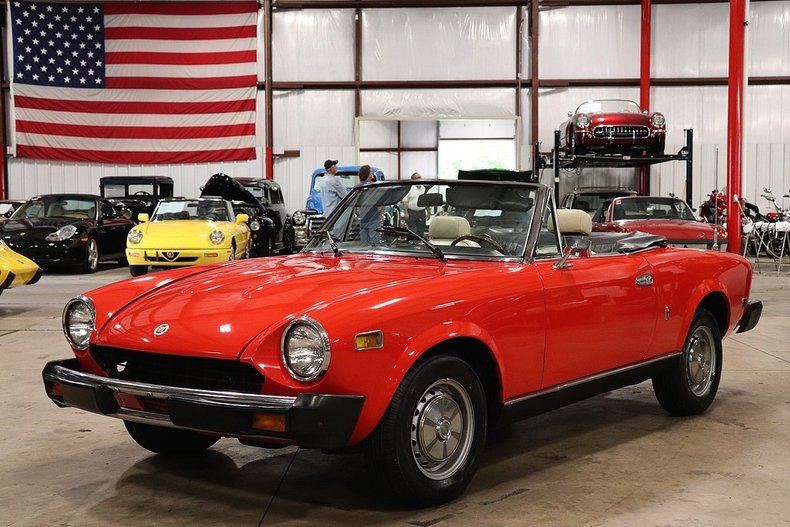 1978 Fiat Spider For Sale