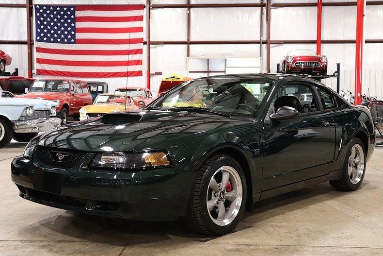 2001 Mustang Bullitt For Sale