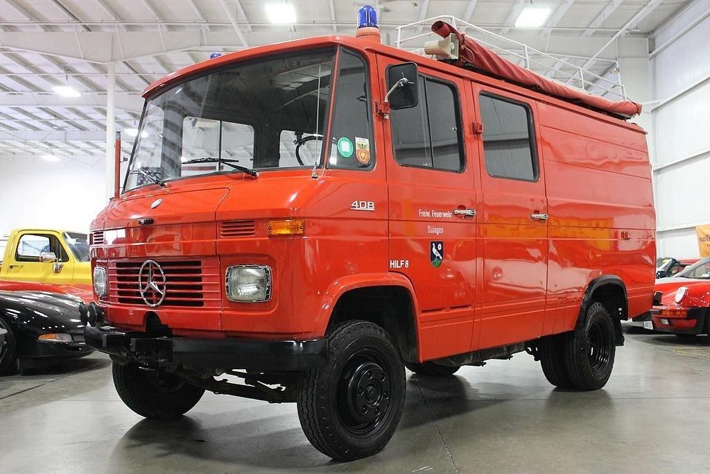 1974 mercedes benz ambulance 408 quad cag