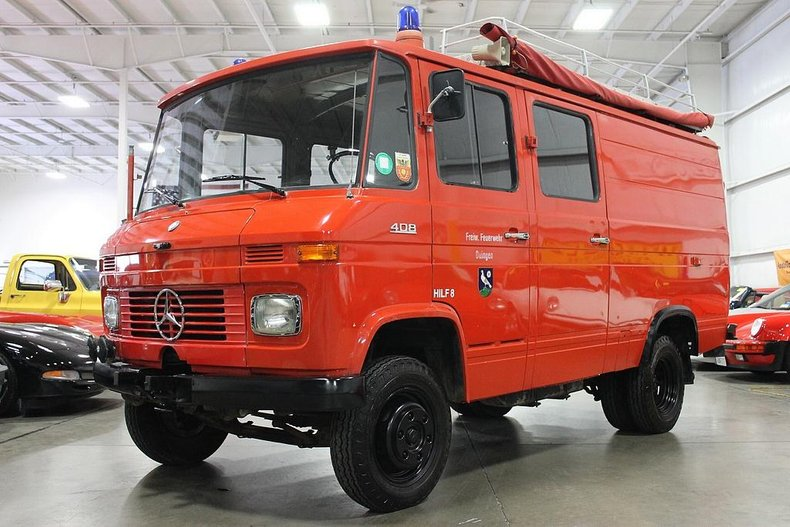 1974 mercedes benz ambulance 408 quad cag