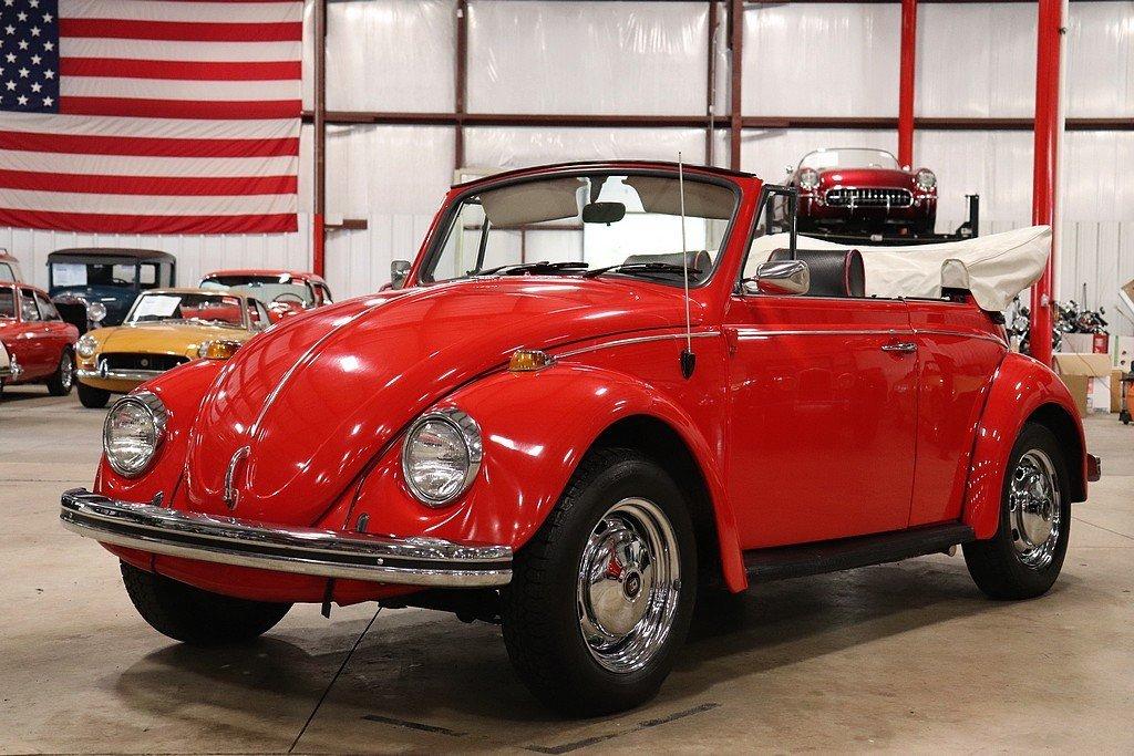 1969 volkswagen beetle convertible