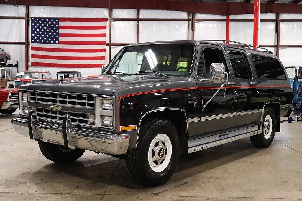 1987 Chevrolet Suburban Gr Auto Gallery