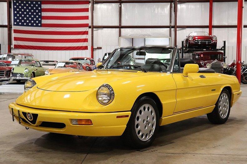 1992 Alfa Romeo Spider For Sale