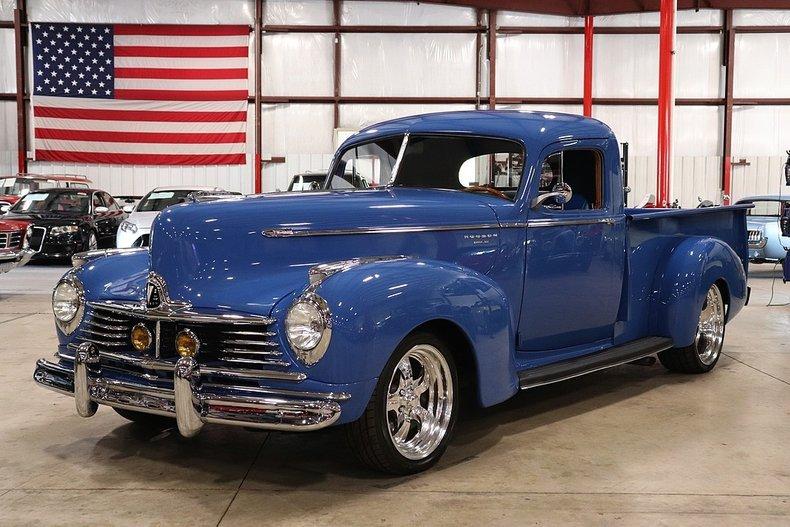 1947 hudson super six custom pickup