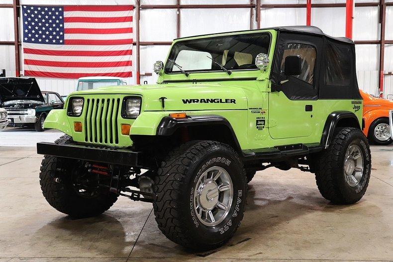 1990 jeep wrangler sport