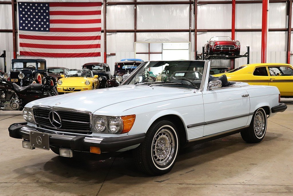 1974 mercedes benz 450 sl