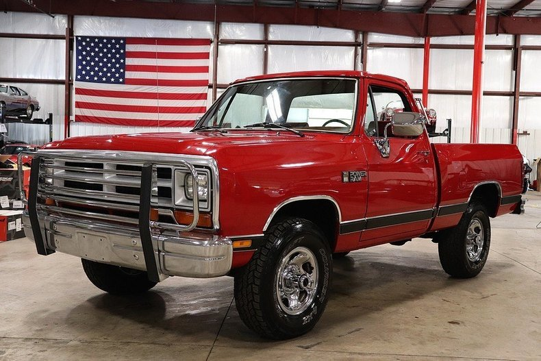 1988 Dodge Ram For Sale