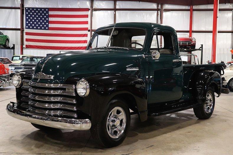 1952 chevrolet pickup