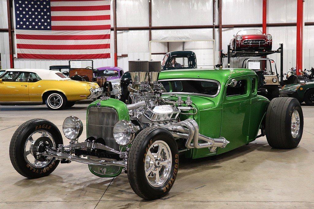 1930 ford coupe hot rod
