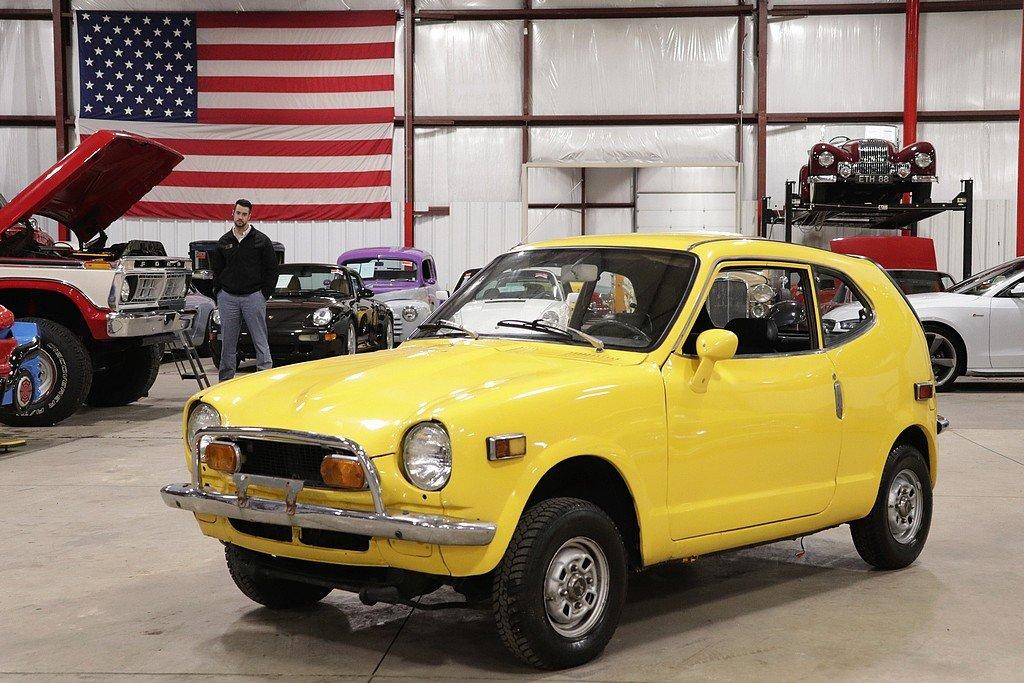 1972 honda z600