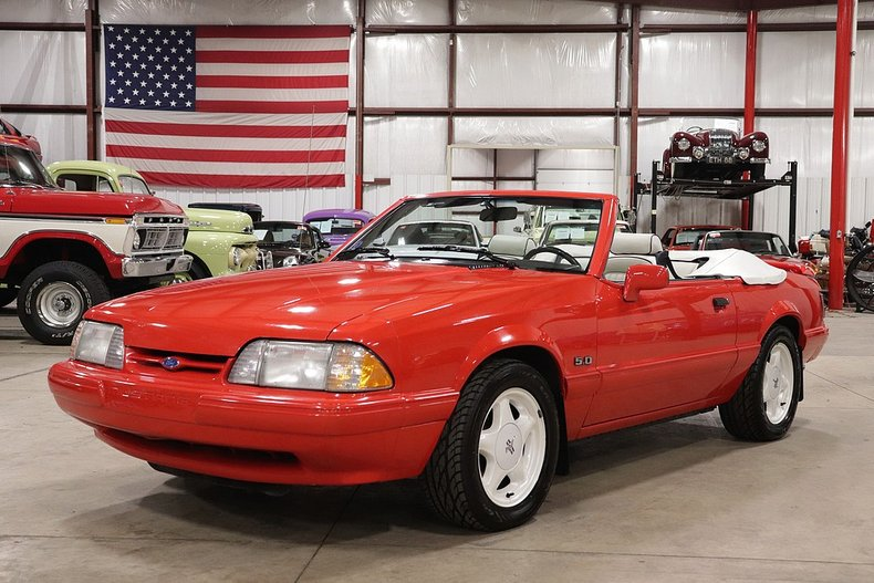 1992 ford mustang lx 5 0 convertible