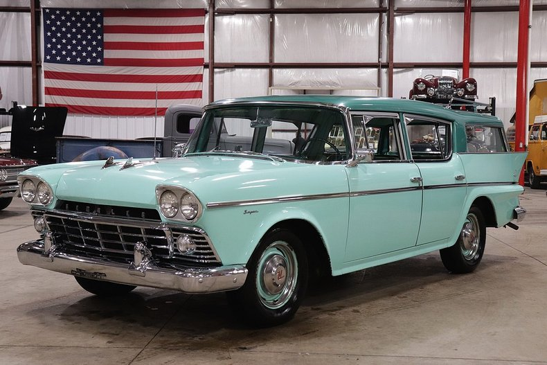 1958 amc rambler cross country