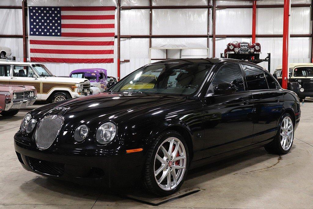 2006 jaguar s type r