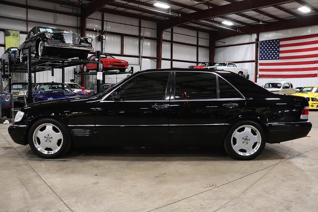 mercedes benz 1999 s600