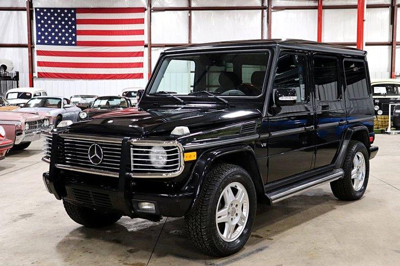 2003 mercedes benz g500
