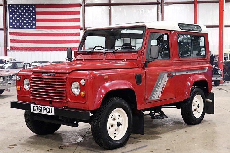 1989 Land Rover Defender For Sale