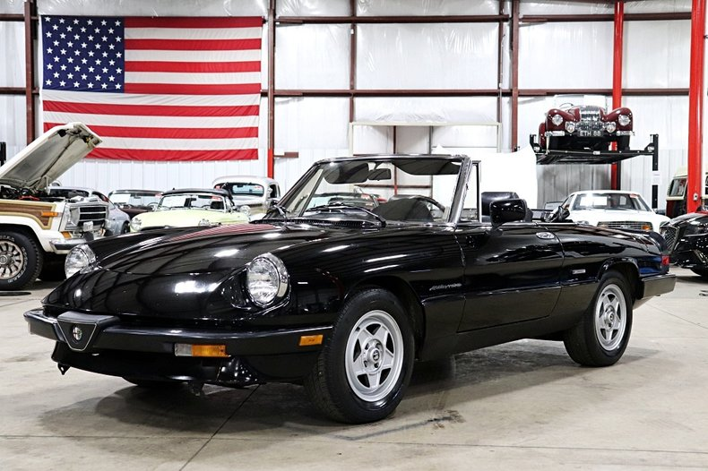 1987 Alfa Romeo Spider For Sale
