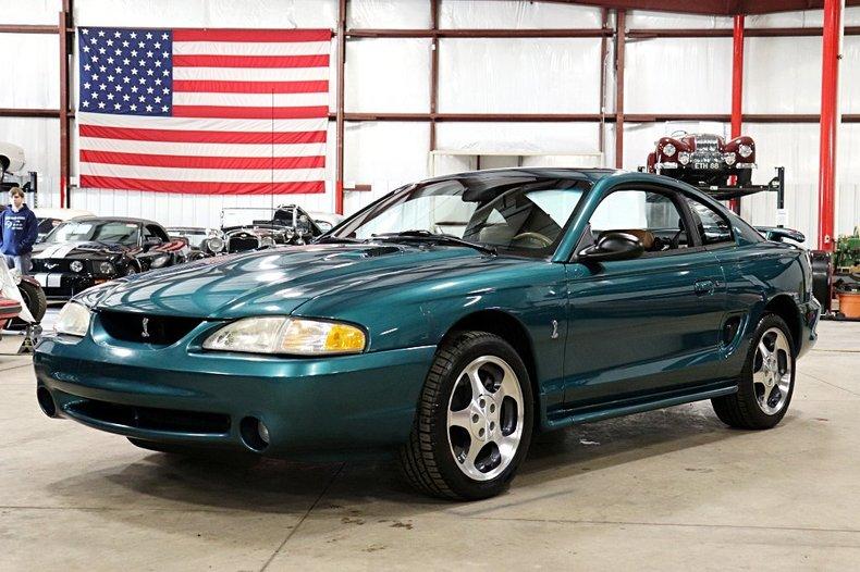 1997 ford mustang cobra svt
