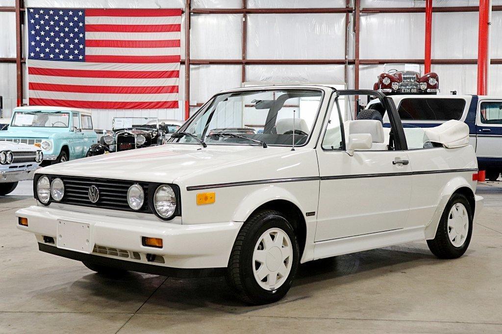 1988 volkswagen cabriolet