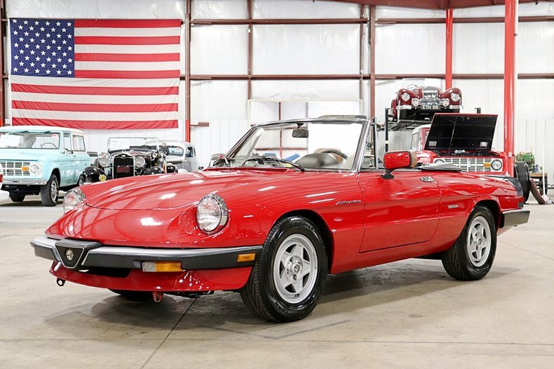 1986 Alfa Romeo Spider For Sale