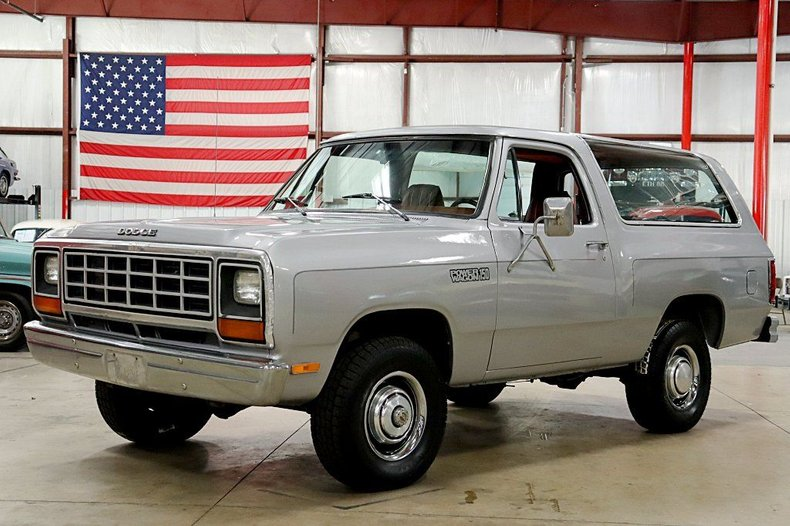 1982 dodge ramcharger power wagon