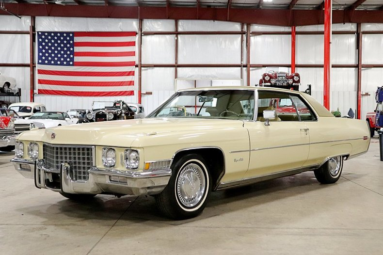 1971 Cadillac Coupe DeVille For Sale