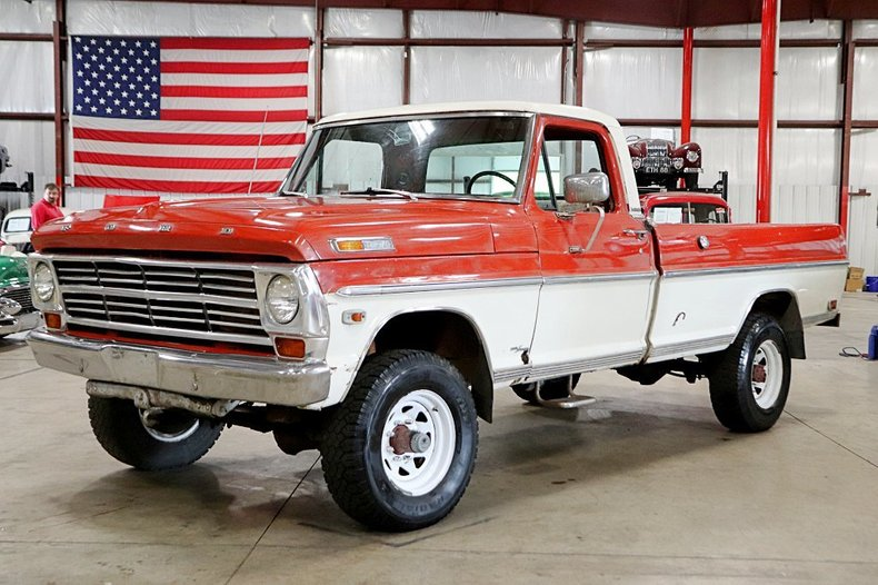 1968 ford f 250 camper special
