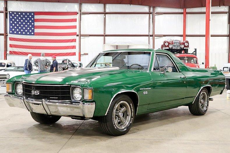 1972 Chevrolet El Camino For Sale