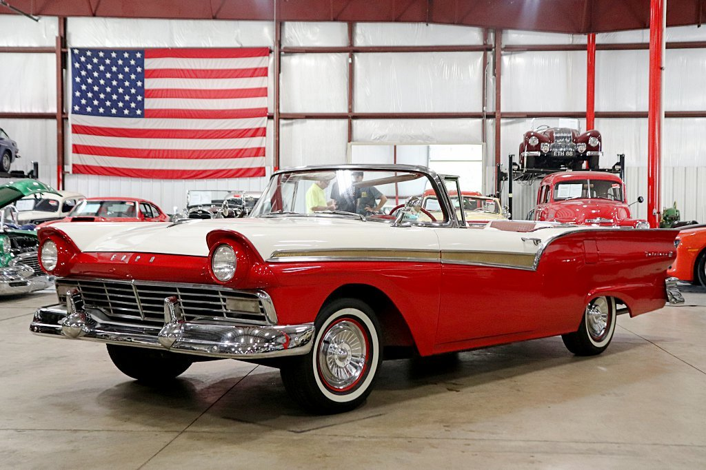 1957 ford fairlane 500 skyliner retractable